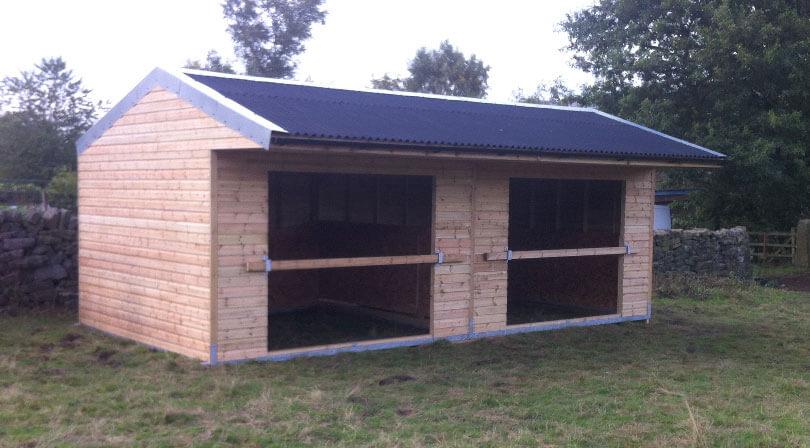 Horse field shelter Skipton