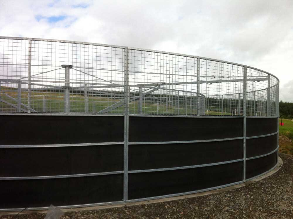 4 Horse Walker supplied and fitted in Ellon, Aberdeenshire.