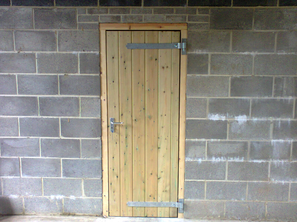 External Stable doors