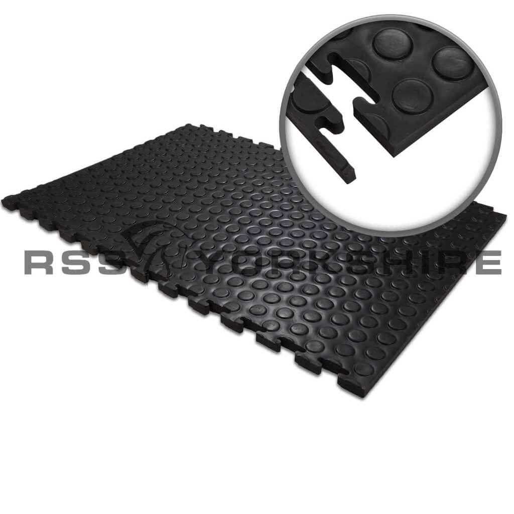 Stable Lites floor matting