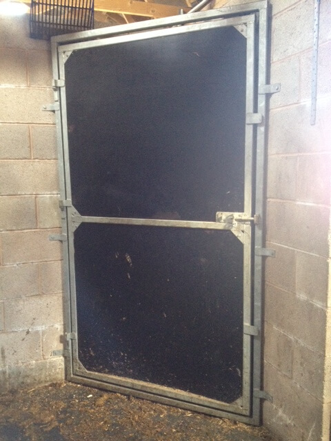 Livery corner cupboard to provide individual storage within the stable