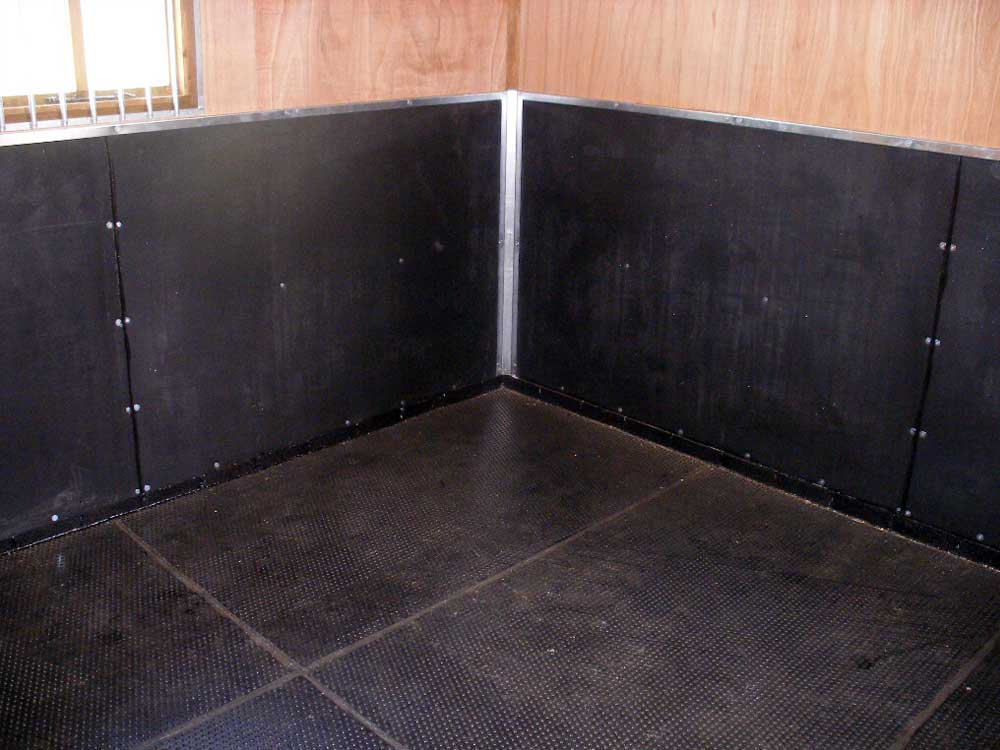 Sealing prevents and dirt and moisture from getting under the mats and causing stale smells.