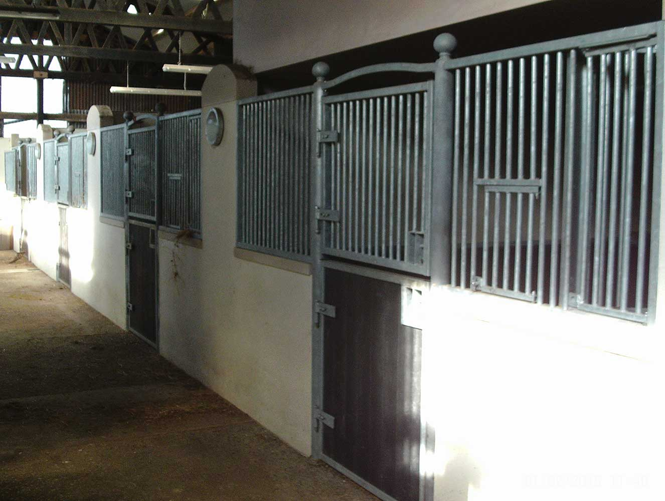 Custom design internal stabling